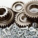 Steel parts — Stock Photo #44409539