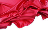 Red silk  — Stock Photo