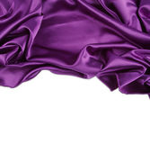 Purple silk — Stock Photo