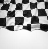 方格的旗 — 图库照片
