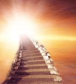 лестница в небо — Стоковое фото