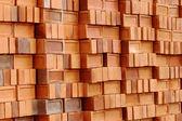 Stack New Brick — Stock Photo