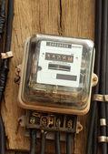 Watthour meter — Stock Photo