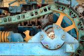 старинный двигатель — Стоковое фото