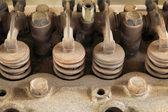 Motor válvula closeup — Foto de Stock