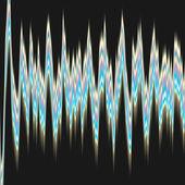 Modello onda di segno — Foto Stock
