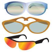 Fashion Sunglasses — Stock Vector