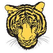 Tiger2 — Cтоковый вектор