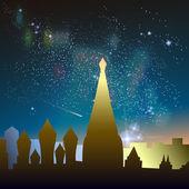 Milky Way Constellation — ストックベクタ