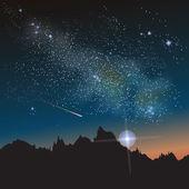 Milky Way Constellation — Stock Vector