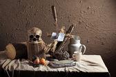 Zwarte voodoo concept — Stockfoto