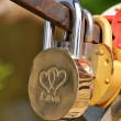 Royalty-Free Stock Photo: Love Padlock