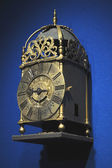 Ancient forged clock — Stock fotografie