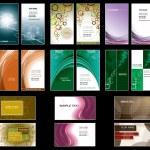 Business Card Templates. Vector Design. — Stock Vector #10694784