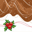 Christmas Background. — Stockvectorbeeld