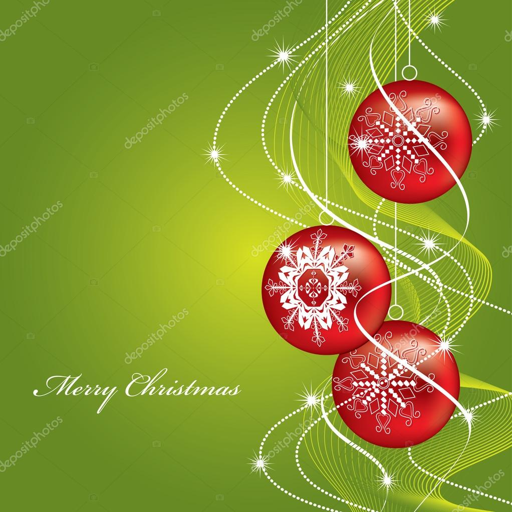 Christmas Background. — Stock Vector #12249593