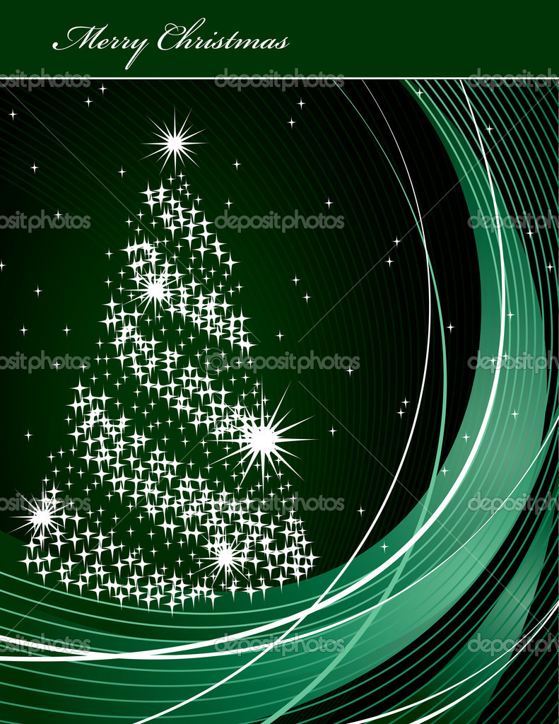 Christmas Background.  Vektorgrafik #12249597