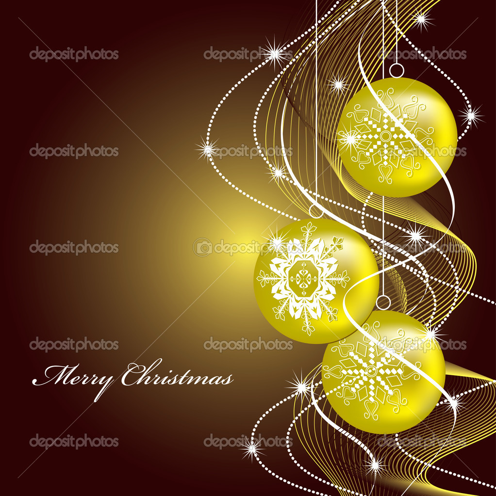 Christmas Background. — Stock Vector #12249602