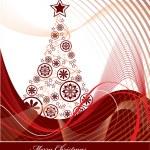 Christmas Tree Background. — Vetor de Stock  #12282948