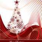 Christmas Tree Background. — Stock vektor #12282948