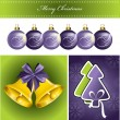 Christmas Background. Vector Illustration. Eps10. — Wektor stockowy #12305825