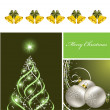 Christmas Background. Vector Illustration. Eps10. — Stok Vektör #12305840