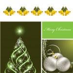 sfondo di Natale. illustrazione vettoriale. Eps10 — Vettoriale Stock