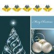 Christmas Background. Vector Illustration. Eps10. - Imagen vectorial