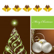 Christmas Background. Vector Illustration. Eps10. — Stockvector #12305850