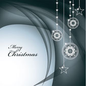 Vánoční pozadí. vektorové ilustrace. — Stock vektor