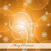 圣诞背景。矢量插画. — 图库矢量图片