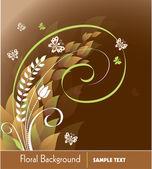 Floral background. vektor-illustration. — Stockvektor