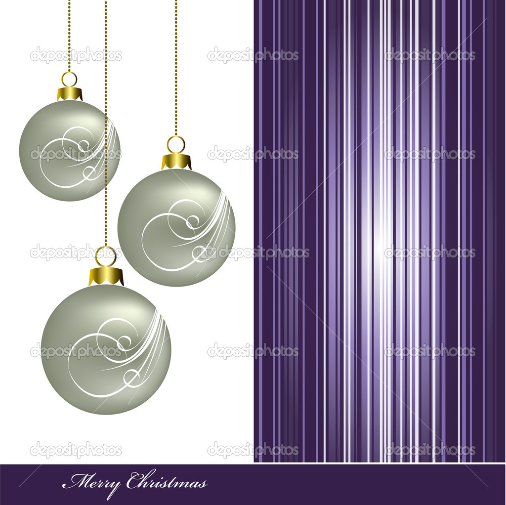Christmas Background. Vector Illustration. Eps10. — Stock Vector #12305904