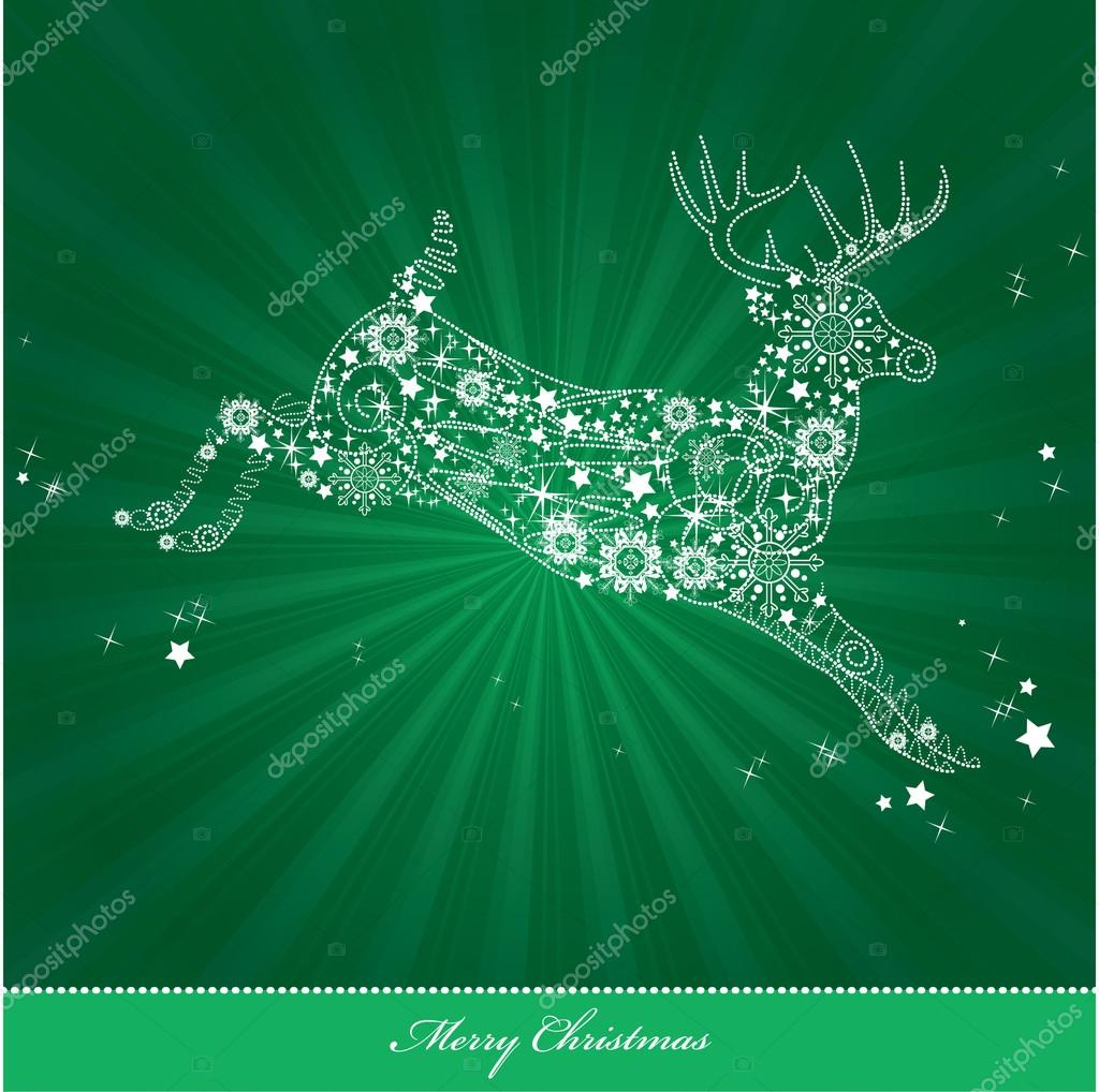 Christmas Background. Vector Illustration. Eps10. — Stock Vector #12306034