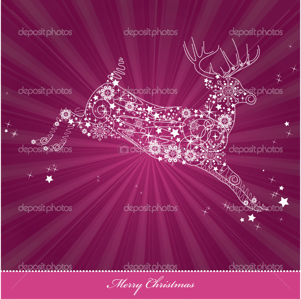 Christmas Background. Vector Illustration. Eps10. — Stock Vector #12306038