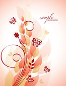 Fondo floral. ilustración del vector. eps10. — Vector de stock