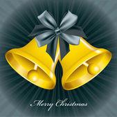 Christmas Bells. Vector Illustration. Eps10. — Stock Vector