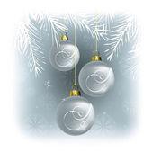 Fondo de navidad. ilustración del vector. eps10. — Vector de stock