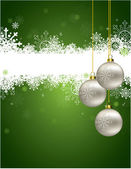 Sfondo di Natale. illustrazione vettoriale. Eps10. — Vettoriale Stock