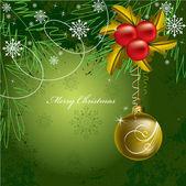 Fundo de Natal. ilustração vetorial. eps10. — Vetor de Stock