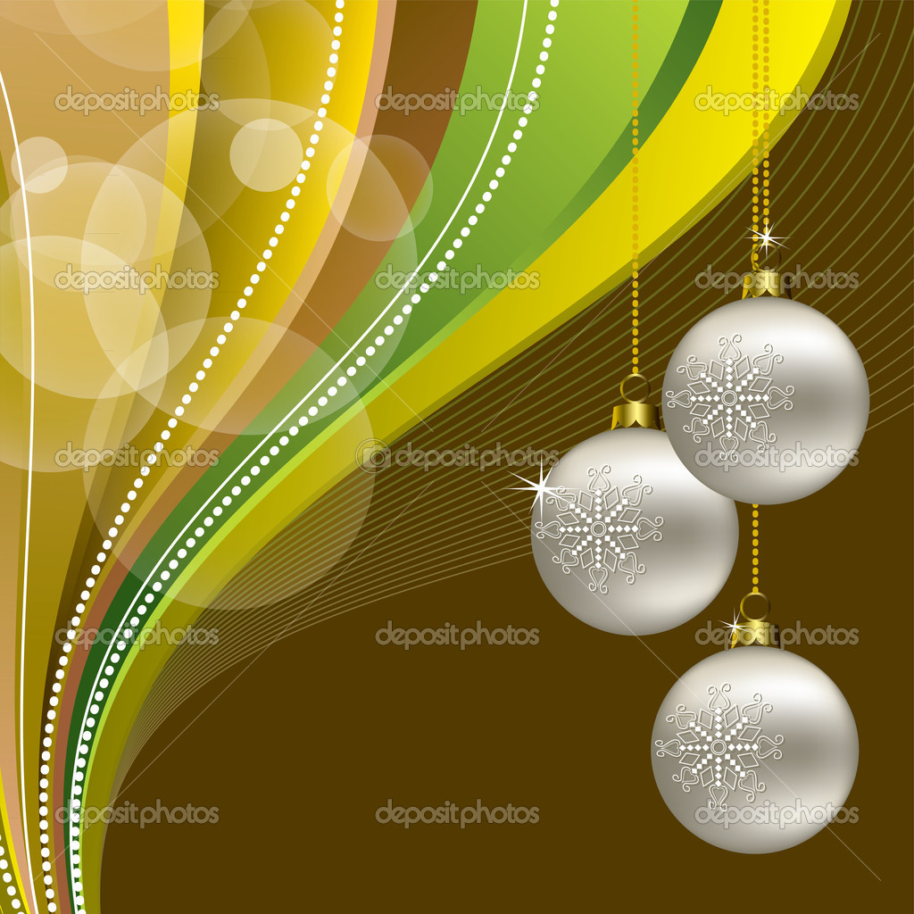 Christmas Background. Vector Illustration. Eps10. — Stock Vector #13637185