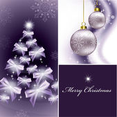 クリスマスの背景。ベクトル イラスト。eps10. — ストックベクタ