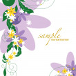 Abstract Floral Background. Vector Illustration. Eps10. — Imagens vectoriais em stock