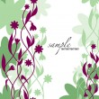 Abstract Floral Background. Vector Illustration. Eps10. — Vetorial Stock