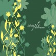 Abstract Floral Background. Vector Illustration. Eps10. — Vetorial Stock #13945875