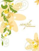 Floral abstrato. ilustração vetorial. eps10. — Vetor de Stock