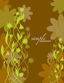 Floral Background. Eps10. — Stock Vector
