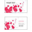 Business Card Templates. Vector Illustration. Eps10. - Stock Vector