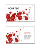 Business Card Templates. Vector Illustration. Eps10. — Stock Vector