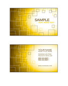 Business Card Template. Abstract Illustration. Eps10. — Stock Vector
